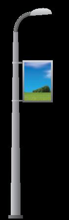 Размещение рекламы на опорах уличного освещения