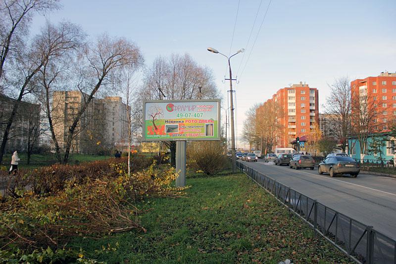 Размещение уличной рекламы в городе Коммунар гатчинского района